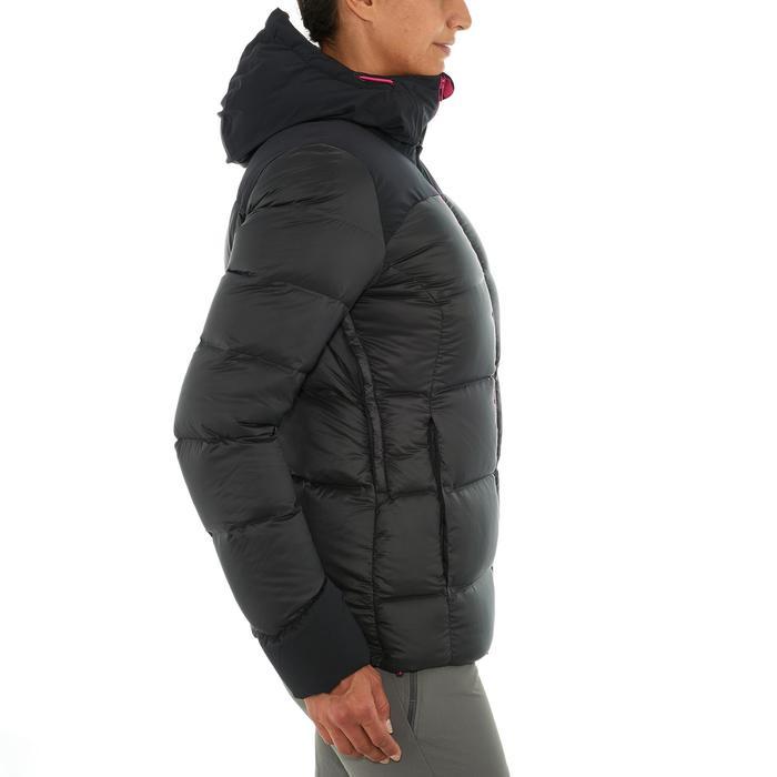 Doudoune trekking montagne TREK900 WARM femme noir