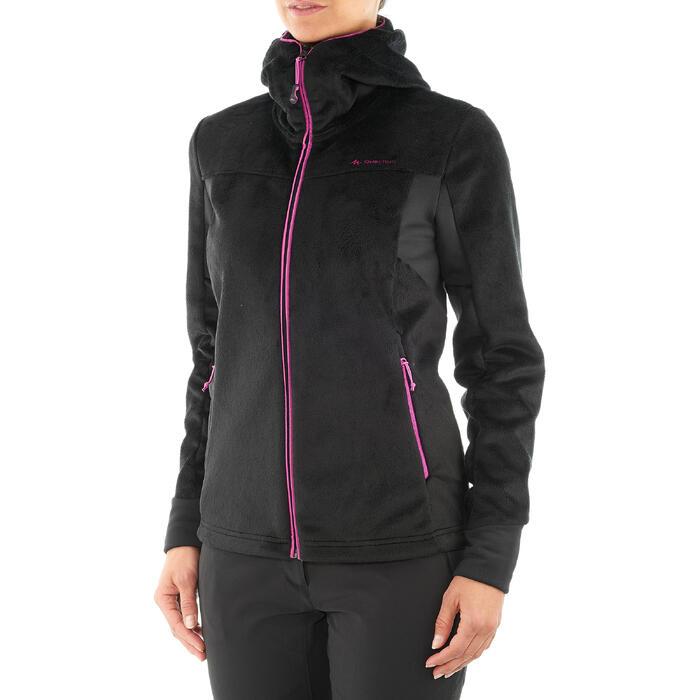 Veste polaire de randonnée montagne femme Forclaz 500 - 1015032
