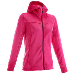 Fleece Forclaz 500 dames trekking