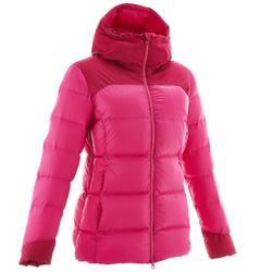 Top-Warm 女性徒步旅行運動羽絨外套 黑色