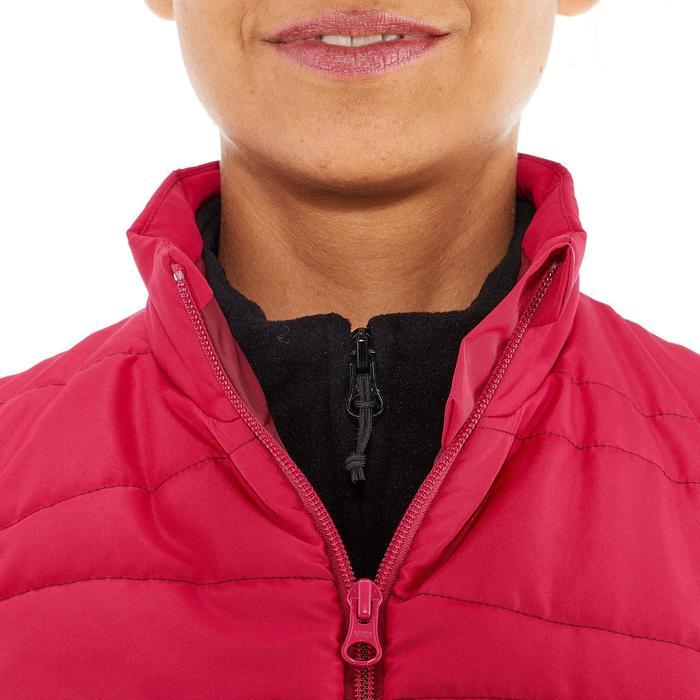 Gilet (doudoune sans manche) randonnée nature femme NH100 rose