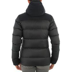 Abrigo Chaqueta Plumón Montaña y Trekking Forclaz TREK900 Acolchada Mujer Negro