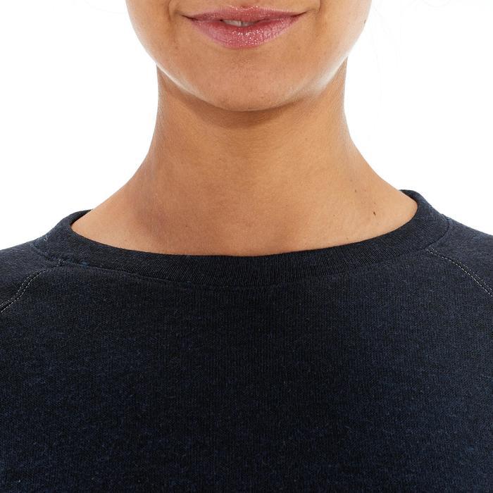 Pullover NH100 Damen dunkelblau