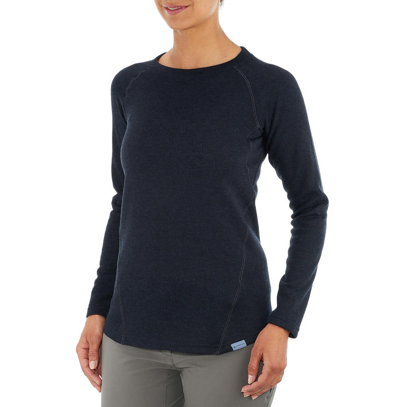 Women's nature walking pullover - NH100