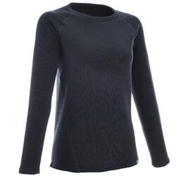 NH100 Women's Hiking Pullover - Navy