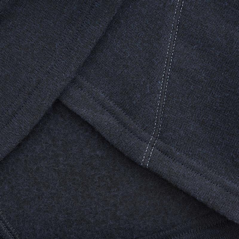 Sweater de senderismo naturaleza mujer NH100 azul marino
