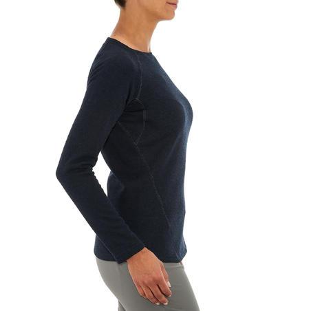 """Sieviešu pulovers pārgājieniem dabā """"NH100"""""""