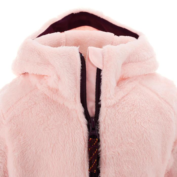 Fleecejacke SH100 Warm Kinder rosa