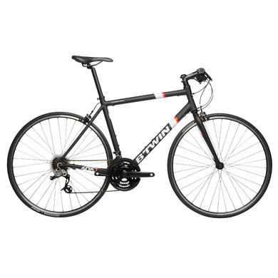 Triban 500 FB Road Bike - Black/White/Orange