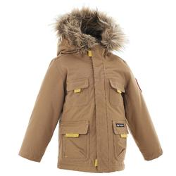 Veste chaude imperméable randonnée XX Warm garçon