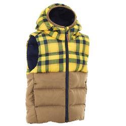 CN X-Warm Children's Hiking Padded Gilet - Pale Yellow