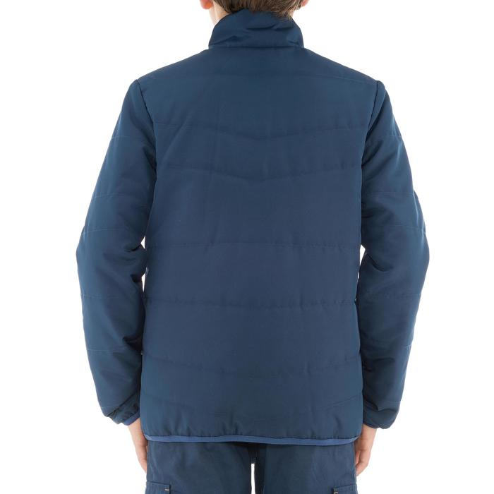 Doudoune randonnée garçon Hike 100 bleu marine