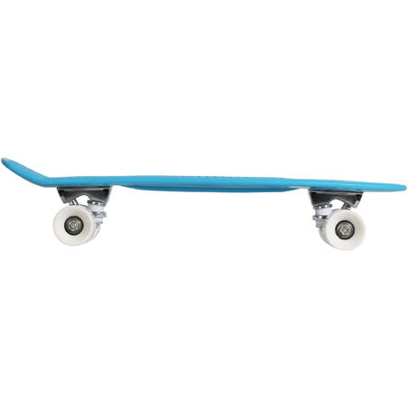 Kids Mini Plastic Skateboard - Blue