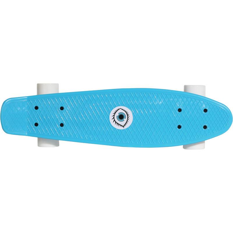 Junior Plastic Skateboard - Blue