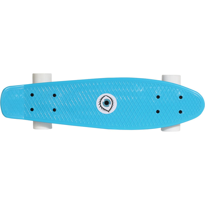 KIDS SKATEBOARD JUNIOR PLASTIC BLUE