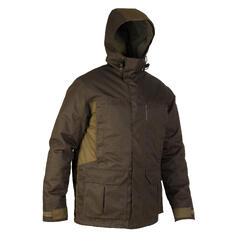 Jagd-Regenjacke 500 warm braun