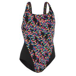 Kamiye Women's Removable Clip One-Piece Swimsuit