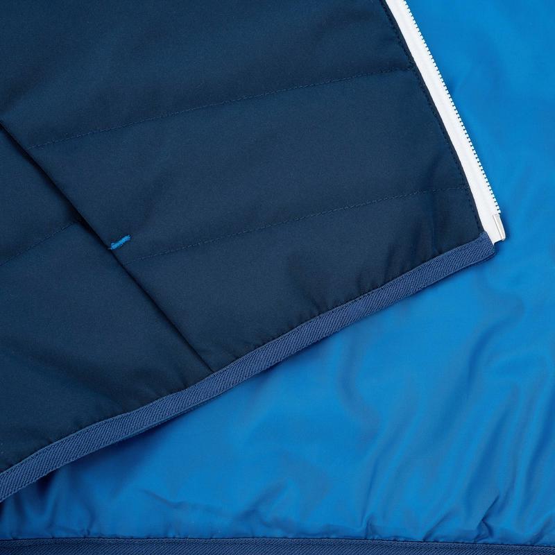 Chaqueta acolchada niño Hike 100 azul marino
