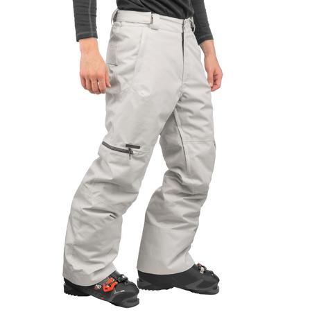 pantalon ski et snowboard homme free 500 gris wedze. Black Bedroom Furniture Sets. Home Design Ideas