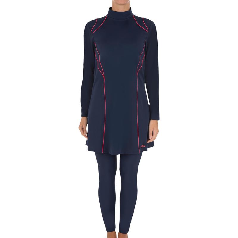 Olfa Women's Full Suit Swimsuit - Blue Red