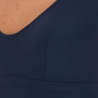 Maillot de bain de natation femme intégral Olfa suit bleu rouge