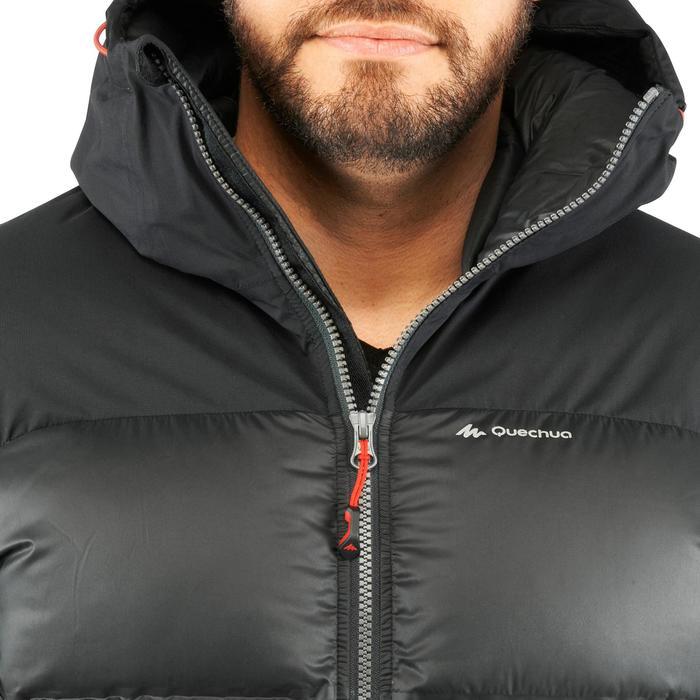 Chaqueta acolchada trekking en montaña TREK 900 WARM hombre negro