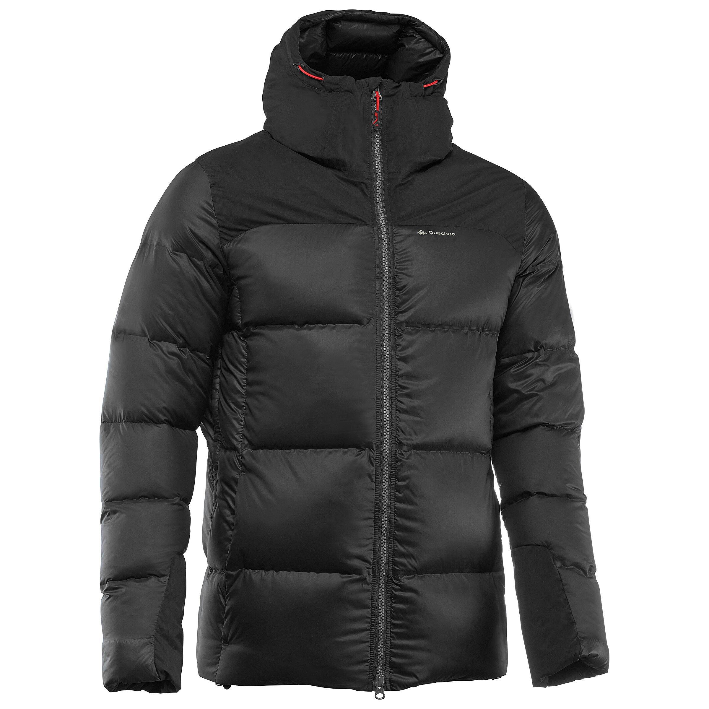 Forclaz Gewatteerde jas voor bergtrekking Trek 900 warm heren