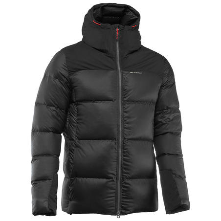 Men's Mountain Trekking Down Jacket TREK 900 - Black