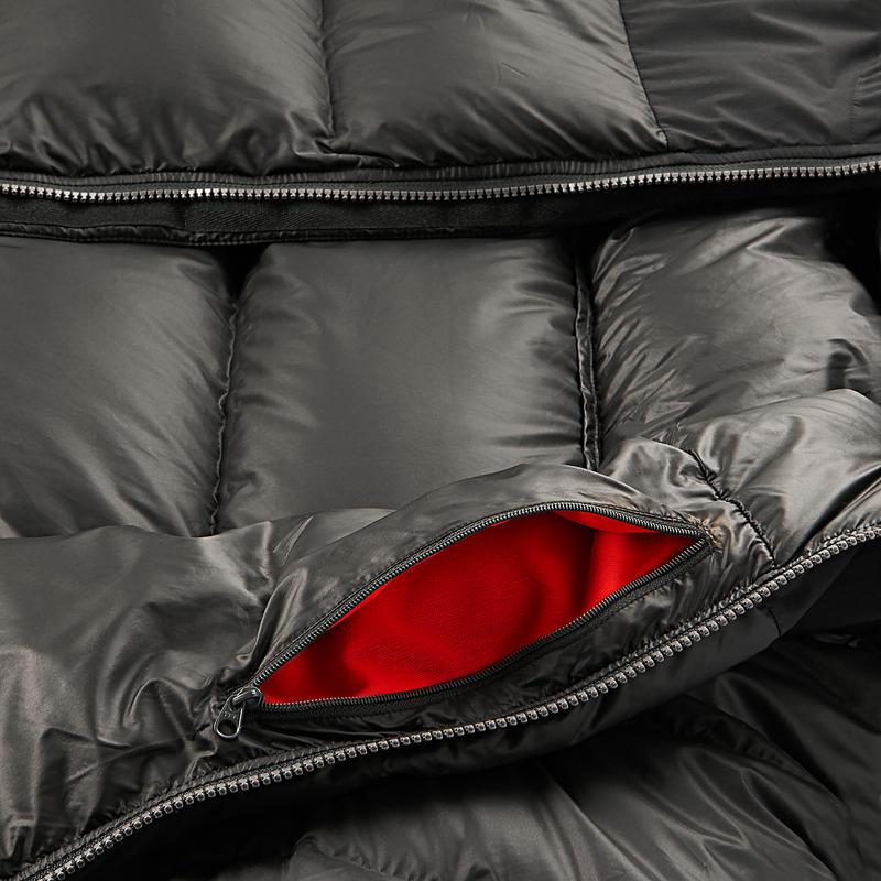 Men's Mountain Trekking Down Jacket Trek 900 - black