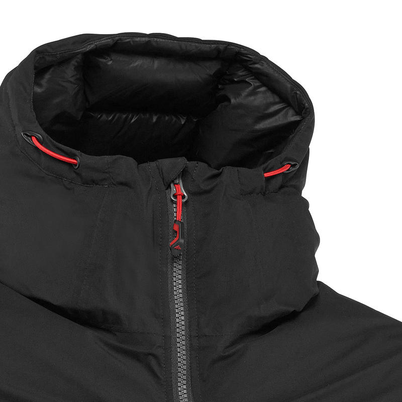 Men's Mountain Trekking Down Jacket - Comfort -18°C - TREK 900 - Black