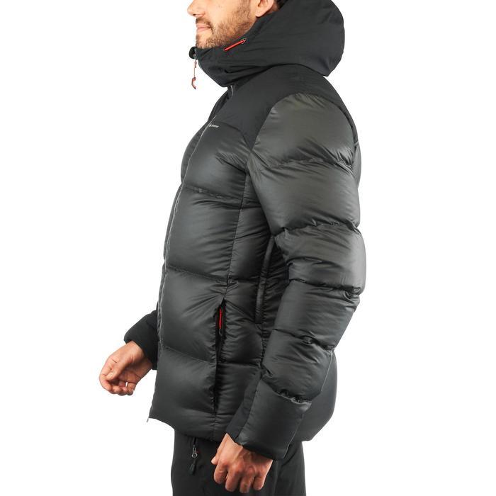 Abrigo Chaqueta Plumón Trekking y Montaña Forclaz TREK900 Acolchada Hombre Negro