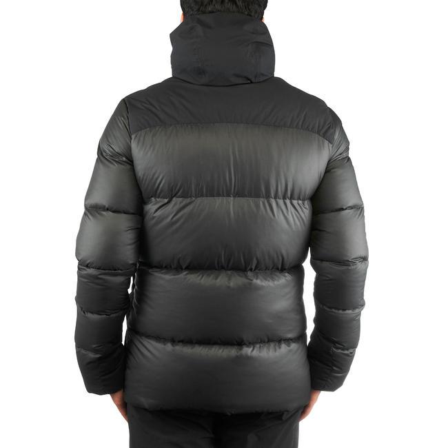 Men's Mountain Trekking Down Jacket - TREK 900 DOWN - black