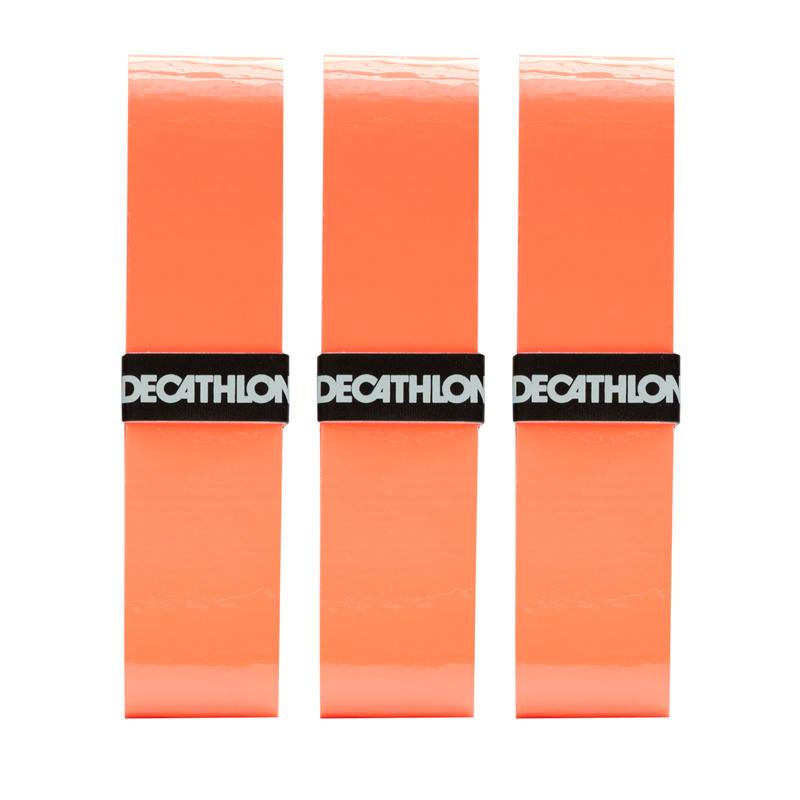 โอเวอร์กริปสำหรับไม้เทนนิสรุ่น Comfort แพ็ค 3 ชิ้น (สีส้ม)