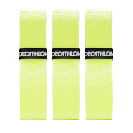 Tennis Comfort Overgrip Tri-Pack - Yellow