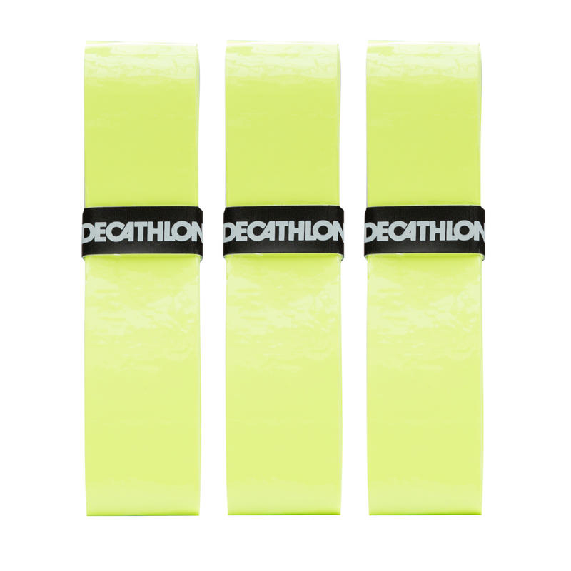 โอเวอร์กริปเทนนิส รุ่น รุ่นComfort แพ็ค 3 ชิ้น (สีเหลือง)