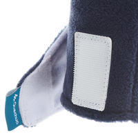 Mitaines de randonnée enfant MH100 polaire bleues
