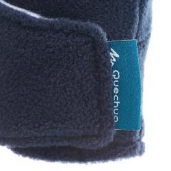Moufles de randonnée enfant MH100 polaire bleues