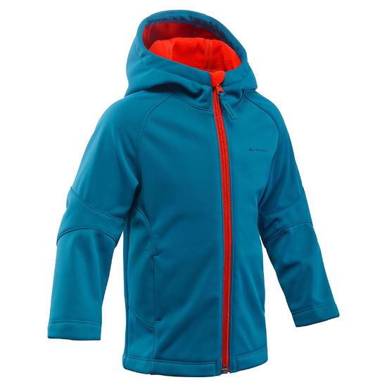 Jas softshell trekking Hike 900 jongens - 1018090