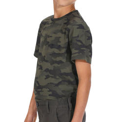 Kinder T-shirt Steppe 100 camouflage Island - 1018263