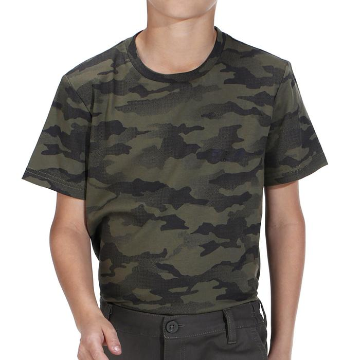 T-shirt chasse 100 Junior island - 1018264