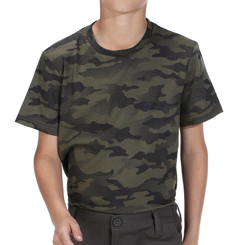 Junior T-Shirt SG-100 Camouflage Half-Tone Green
