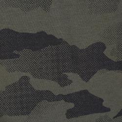Kinder T-shirt voor de jacht 100 camouflage halftone groen