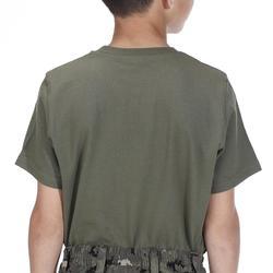 Kinder T-shirt voor de jacht 100 groen