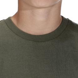 兒童款狩獵T恤100-綠色