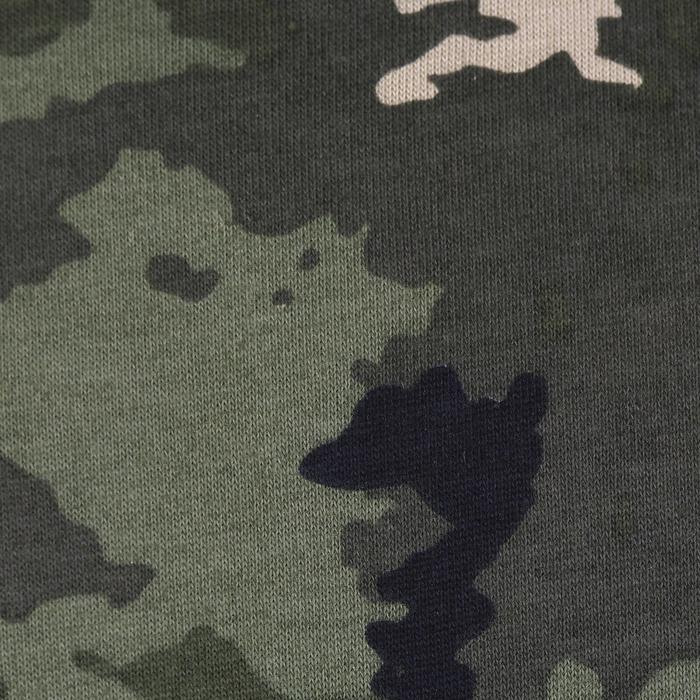 T-shirt chasse 100 Junior camouflage island