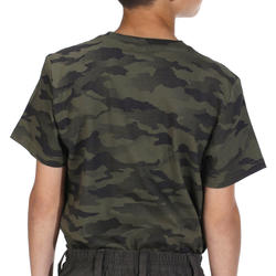Kinder T-shirt Steppe 100 camouflage Island - 1018292
