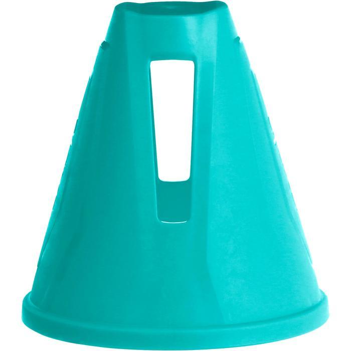Lote 10 conos rollers eslalon azul