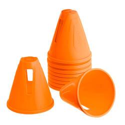 Cones de Slalom para Patins Laranja (Conjunto de 10)