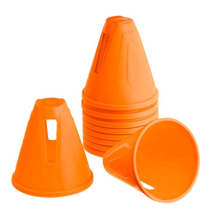 Lot 10 cônes roller slalom - 1018558