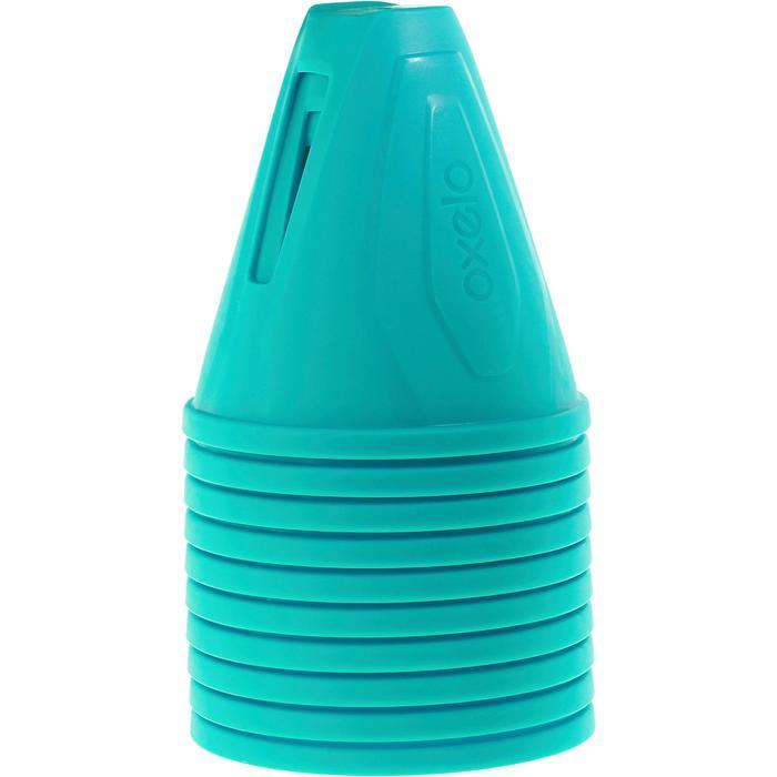Lot 10 cônes roller slalom - 1018565